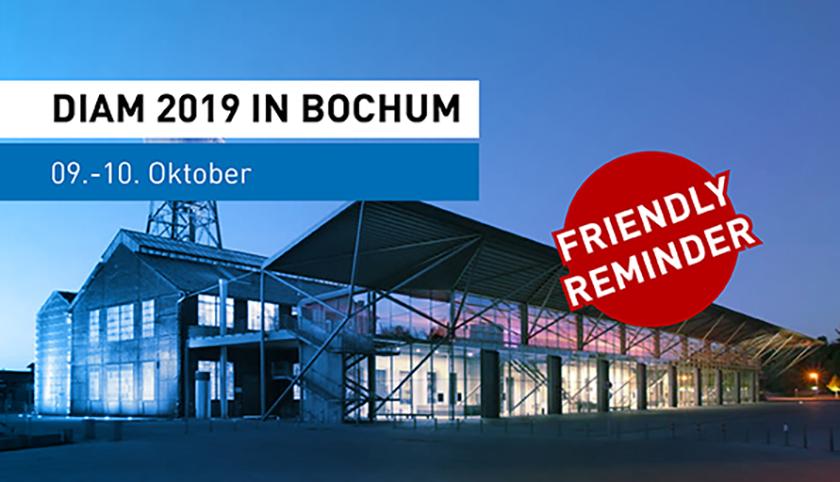DIAM Messe Bochum Oktober